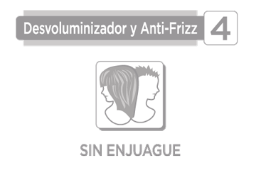 DESVOLUMINIZADOR Y ANTI-FRIZZ (SIN ENJUAGUE)