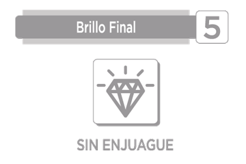 BRILLO FINAL (SIN ENJUAGUE)