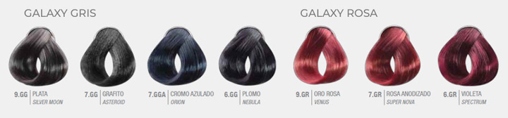 CK Galaxy Colors: Gris + Rosa